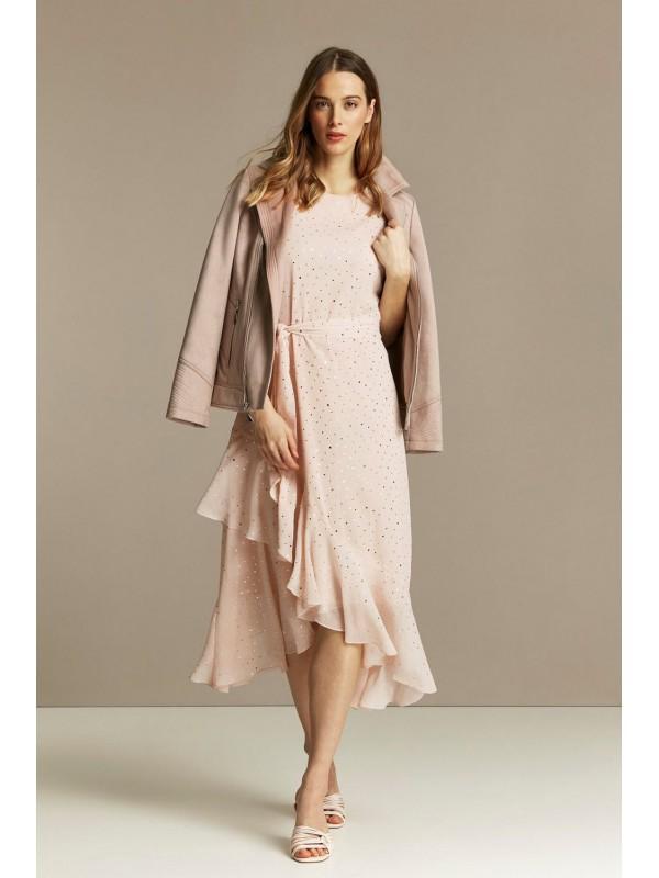 Bladed tiered midriff dresses