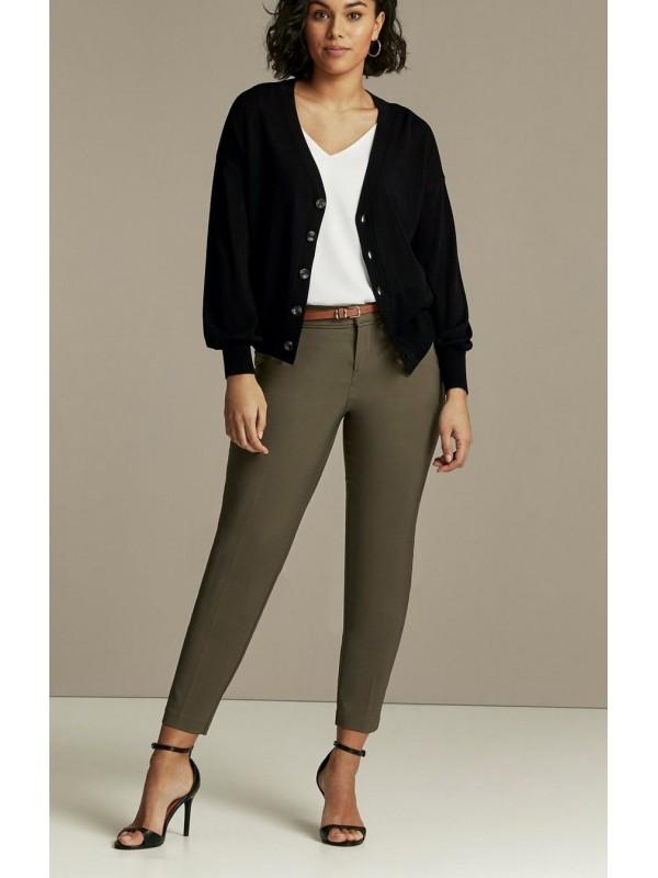 Black button down cardigan for women