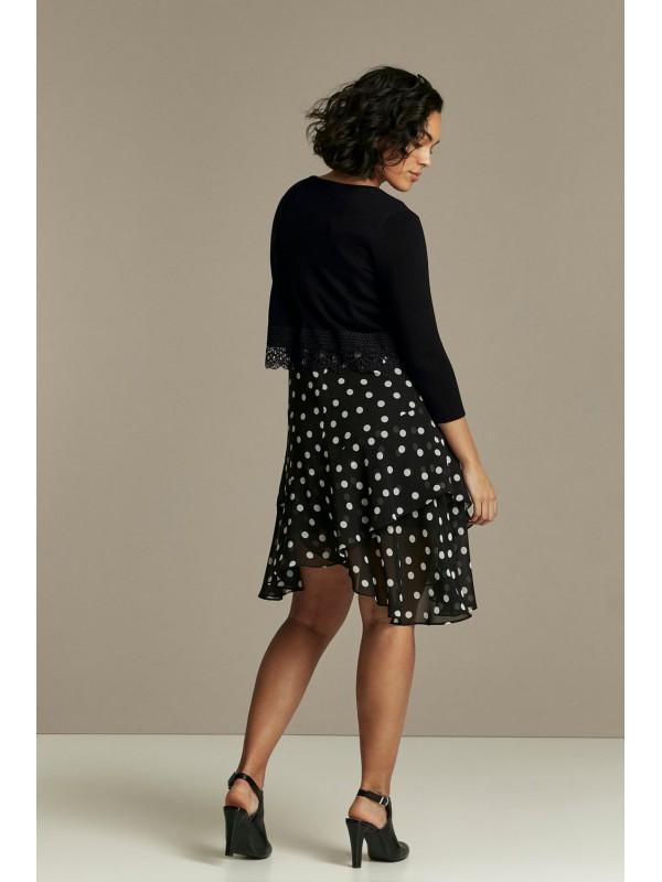 Black lace clothes